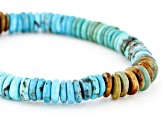 Mixed Color Turquoise Stretch Bracelet