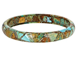 Multi Color Turquoise Bangle Bracelet