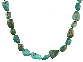 Turquoise Bead Endless Strand Necklace