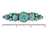 Southwest Style By Jtv™ Mixed Shapes Cabochon Turquoise Sterling Silver Cuff Bracelet