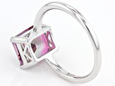 Bi-Color Mystic Topaz® Sterling Silver Solitaire Ring 3.41ct