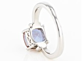 Purple Lab Created Zandrite(R) Sterling Silver Ring 2.00ctw