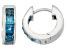 London Blue Topaz Sterling Silver Hoop Earrings .90ctw