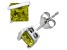 Peridot Sterling Silver Stud Earrings 2.48ctw