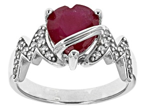 Mahaleo Ruby Sterling Silver