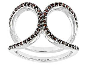Red Vermelho Garnet™ Sterling Silver Ring .33ctw