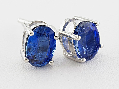 Kyanite 2.00ctw Sterling Silver Earrings
