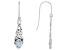 Glacier Topaz ™ .84ctw Sterling Silver Earrings
