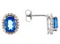 Color Change Blue Fluorite Sterling Silver Earrings 2.72ctw
