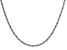 """2mm Rhodium Over Silver 24.5"""" Rope Chain"""
