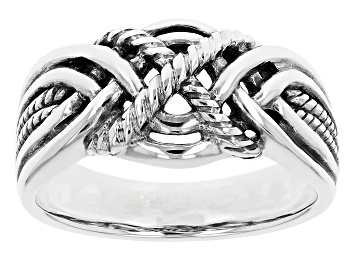 Picture of Rhodium Over Sterling Silver Ring