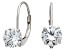 Bella Luce ® 2.00ctw Round 10k White Gold Earrings