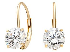 Bella Luce ® 2.00ctw Round 10k Yellow Gold Earrings
