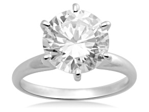 Bella Luce ® 3.00ctw Round 10k White Gold Ring