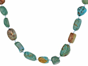 Green Turquoise Endless Necklace