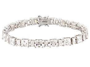 Cubic Zirconia Platineve Bracelet 39.03ctw
