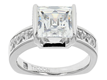 Picture of Cubic Zirconia Platineve Ring 7.07ctw