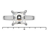White Cubic Zirconia Platineve Ring 2.95ctw