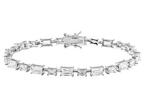 White Cubic Zirconia Platineve Bracelet 15.81ctw