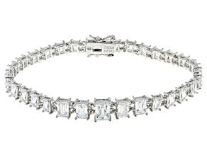 White Cubic Zirconia Platineve Bracelet 15.79ctw