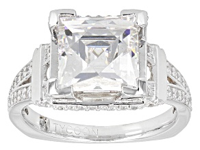 White Cubic Zirconia Platineve Ring 7.25ctw