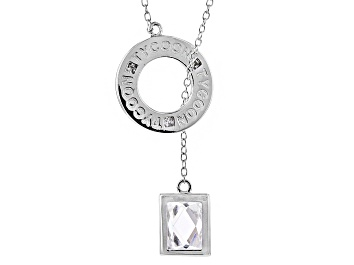 Picture of Cubic Zirconia Platineve Necklace 2.36ct (1.74ct DEW)