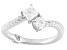 Cubic Zirconia Platineve Ring 1.23ctw (.80ctw DEW)