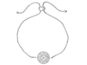 White Cubic Zirconia Platineve Bracelet 1.56ctw