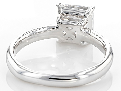 White Cubic Zirconia Platineve Ring 3.19ctw