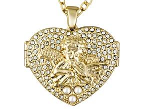 Angel Locket Pendant With Chain
