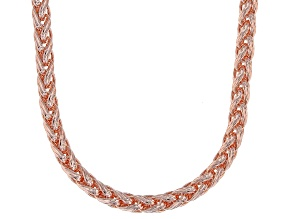 "20"" Copper Spiga Chain Necklace"