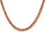 "16"" Copper Byzantine Chain Necklace"