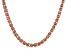 "30"" Copper Byzantine Chain Necklace"