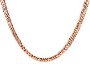 """22"""" Copper Flat Chain"""