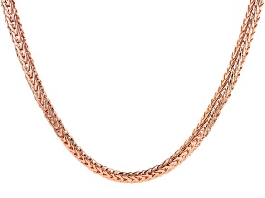 """28"""" Copper Flat Chain"""