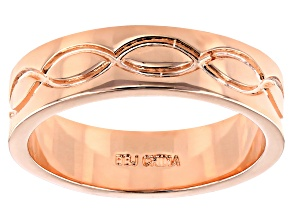 Copper Men's Band Ring