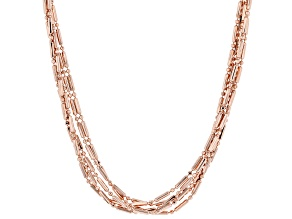 "30"" Copper Five-Strand Necklace"