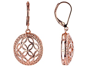 Copper Open Design Earrings