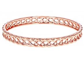 Copper Open Design Bangle