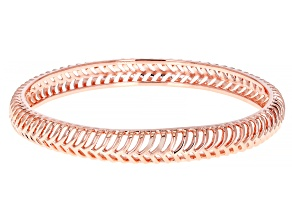 Copper Open Design Bangle