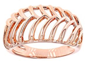 Copper Open Design Dome Ring