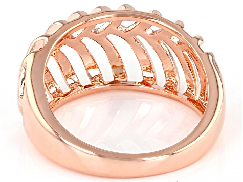 Copper Open Design Dome Ring