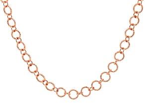 Copper Link Necklace