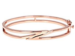Open Design Copper Bangle