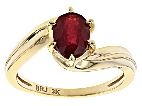 Red Mahaleo® Ruby 3k Solitaire Ring 1.53ctw