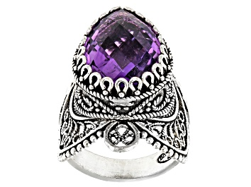 Picture of Amethyst Sterling Silver Ring