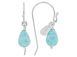 Blue Sleeping Beauty Turquoise Sterling Silver Earrings