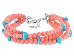 Turquoise Sleeping Beauty Silver Bracelet