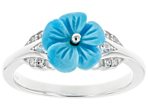 Sleeping Beauty Turquoise Silver Ring