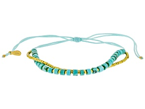 Kingman Turquoise Adjustable Bracelet
